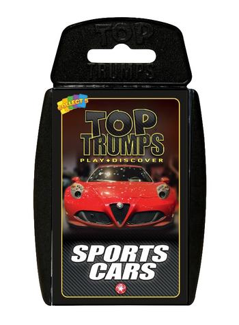 View Item Top Trumps - Sports Cars