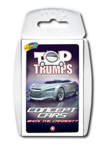 View Item Top Trumps - Concept Cars