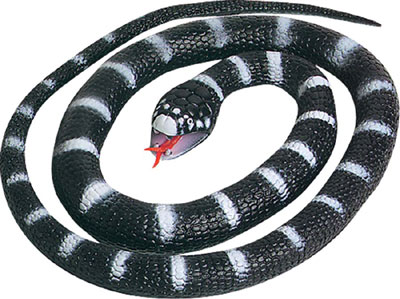 New-Rubber-Snakes-Toy-66-cm-Various-Colours-By-Wild-Republic