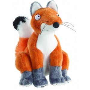 New Gruffalo Fox Plush Soft Toy Sitting 6