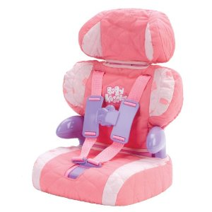 New Baby Huggles Car Boosterseat Doll Car Seat Toy by ...