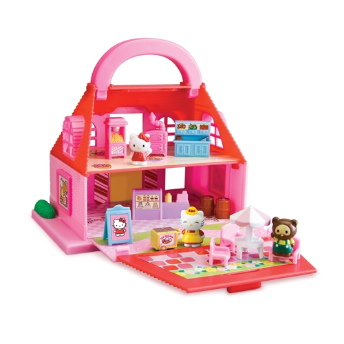 New hello kitty candy store sweet shop playset toy by - Petite maison hello kitty ...
