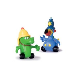 New Jungle Junction Character Duo Tube Bobby & Crocker Toy by Flair Enlarged Preview