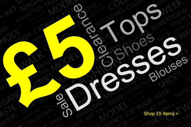 Cheap Clearance �5 Dresses & Tops