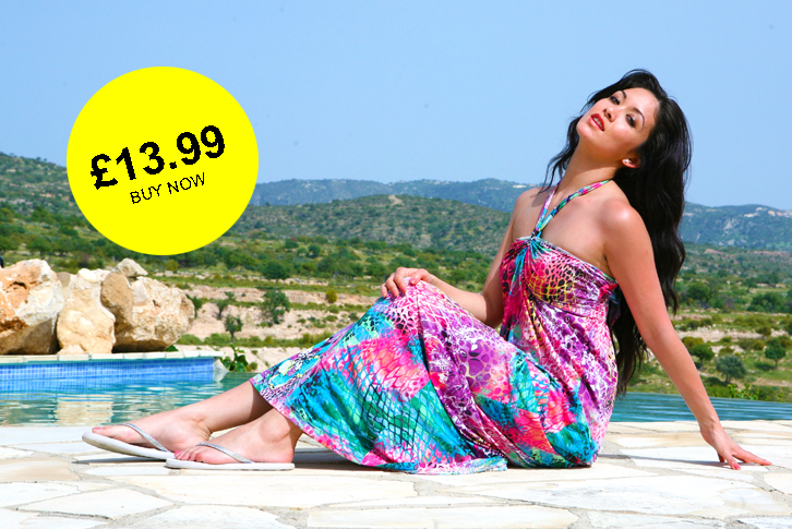 Featured UniQ Floral Print Summer Maxi Dress?