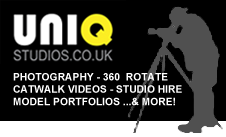 UniQ Studios - 360 Rotate, Catwalk Videos, and London Studio Hire