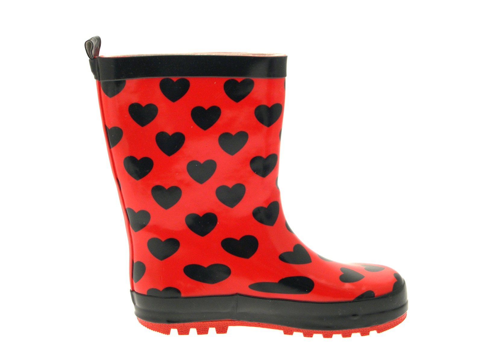 Girls Disney Minnie Mouse Rubber Snow Boots 3D Wellies