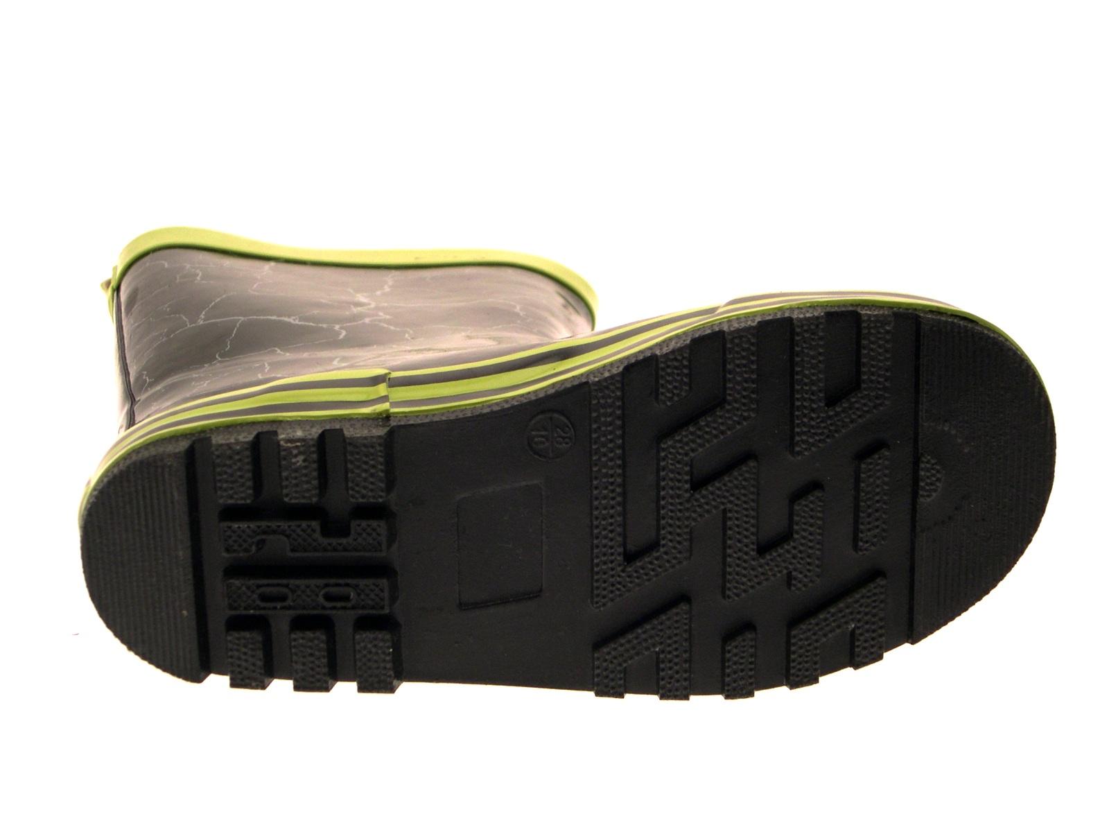 Boys Teenage Mutant Ninja Turtles Rubber Snow Boots Wellies Wellingtons Size 7-3