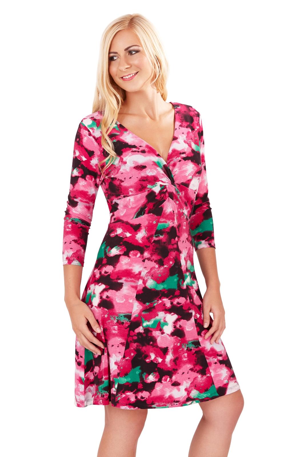 Z Cite womens grey sundress with long sleeve jacket glamour pattern size L.
