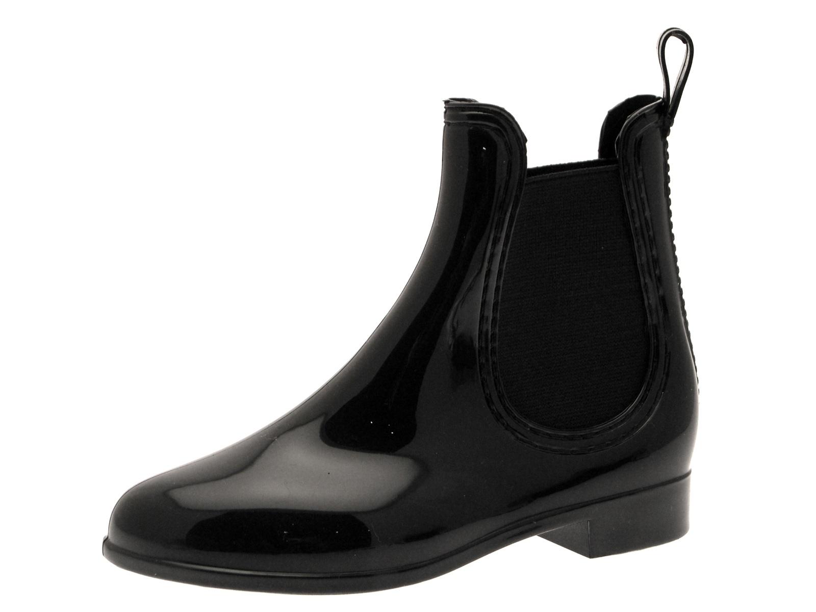 Black Wellington Boots Kids