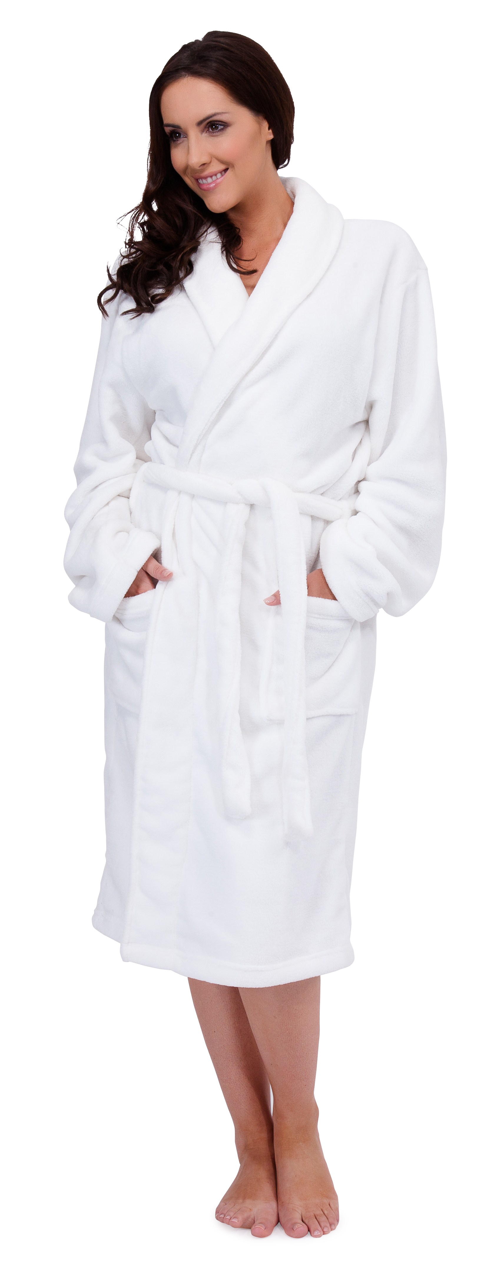 women's dressing gowns Get wrapped up in a cosy dressing gown. Whether you're looking for a full-length zip-up housecoat, a warm fleece wrap-around or a lightweight summer gown we have a great selection available in sizes 10 - 24, and in a wide range of colours and styles.