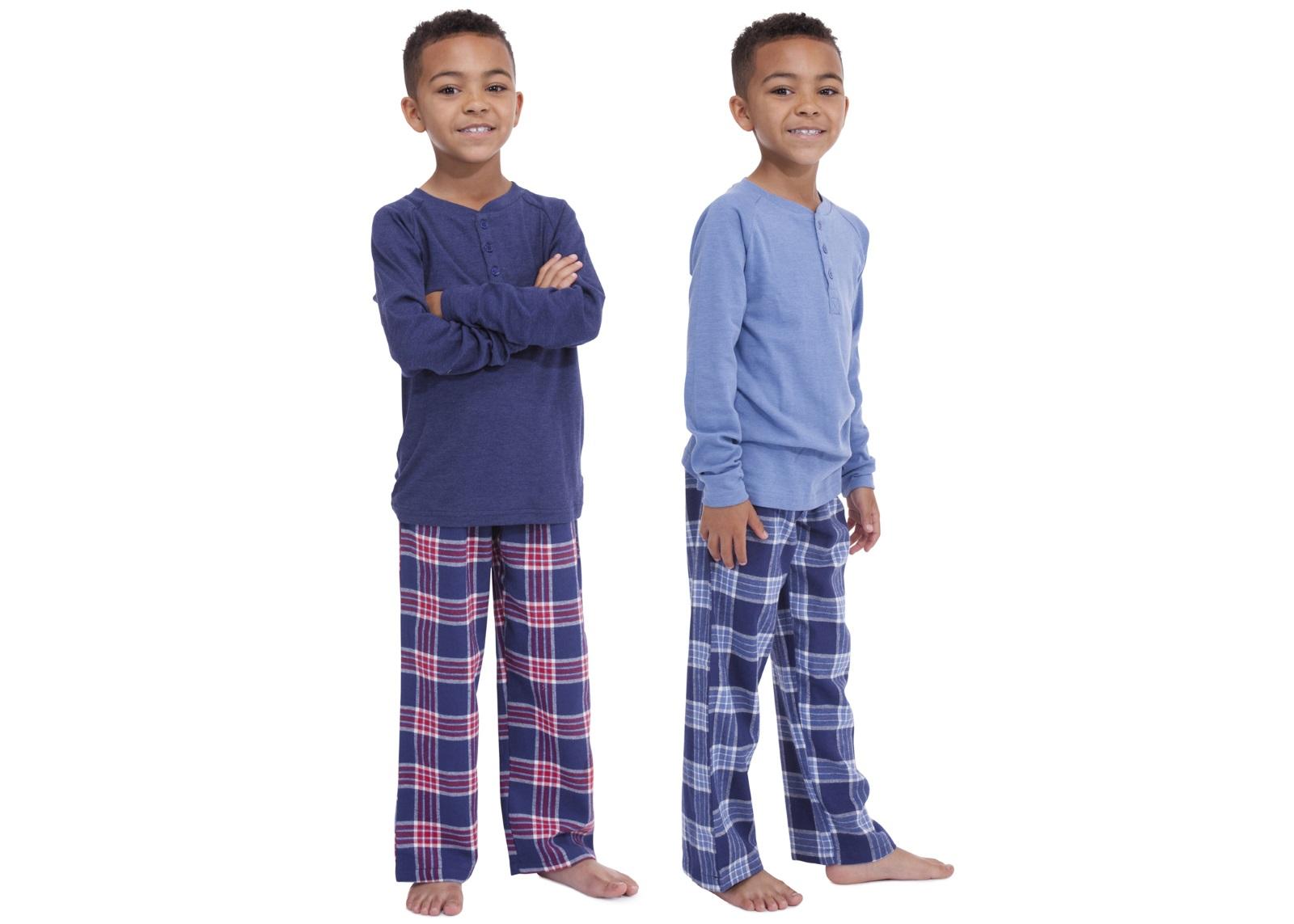 Kids Girls Boys Long Pyjamas 2 Piece Set Pjs Pj/'s Childrens Size UK 4-13 Years