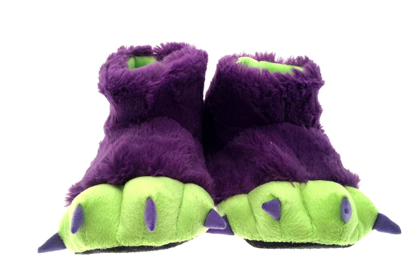 Adults Kids Unisex Cosplay Plush Slippers Monster Animal Paw Warm Indoor Shoes See more like this. NWT Boys Sz 2/3 (Medium/Large) Monster Bear Feet Claw Slippers Costume Halloween. Brand New. $ Gorilla Foot Hairy Monster Slippers Shoes Costume Toddler's Size Small New.