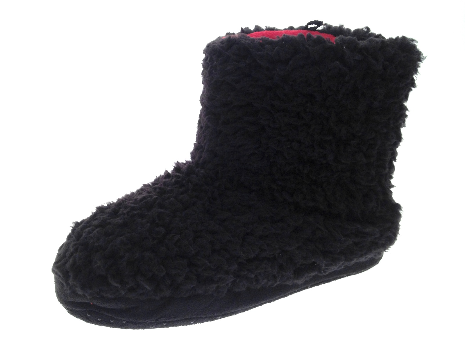 how to make fleece slippers boots