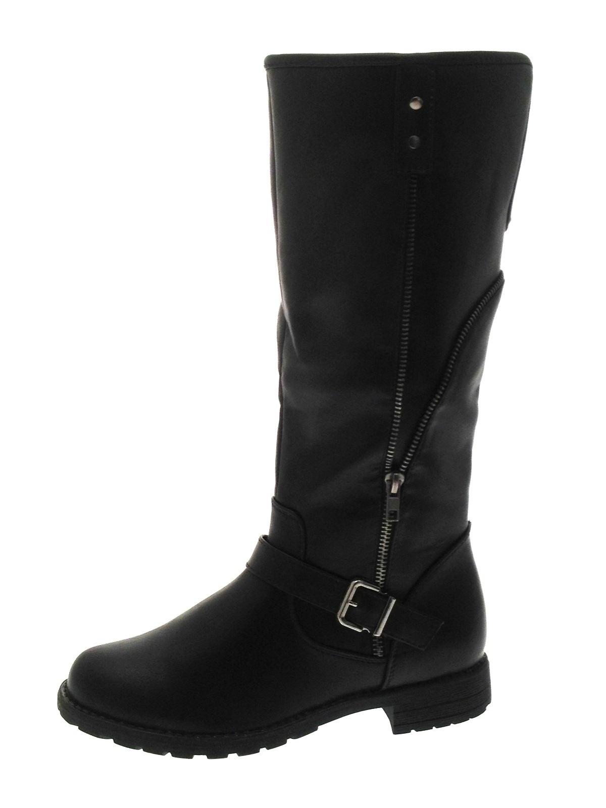 Amazing Ash Black Leather TOKYO Womens Biker Boot - Ash From Daniel Footwear UK