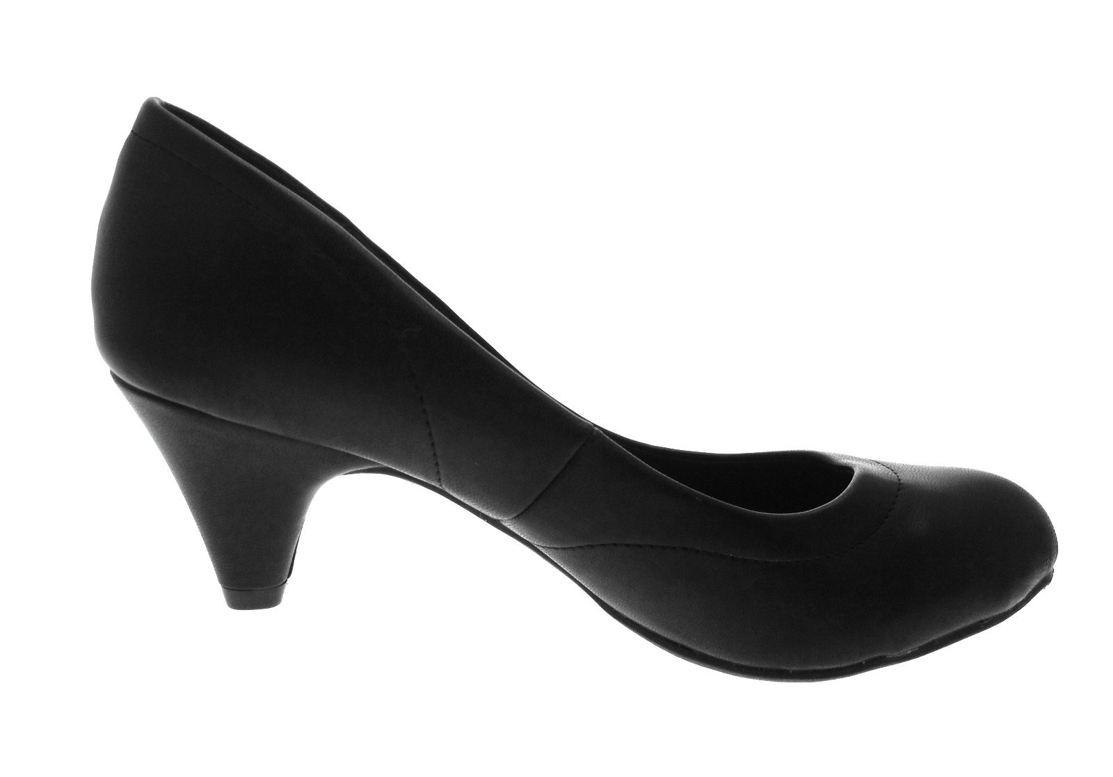 womens low stiletto heels comfort work office everyday