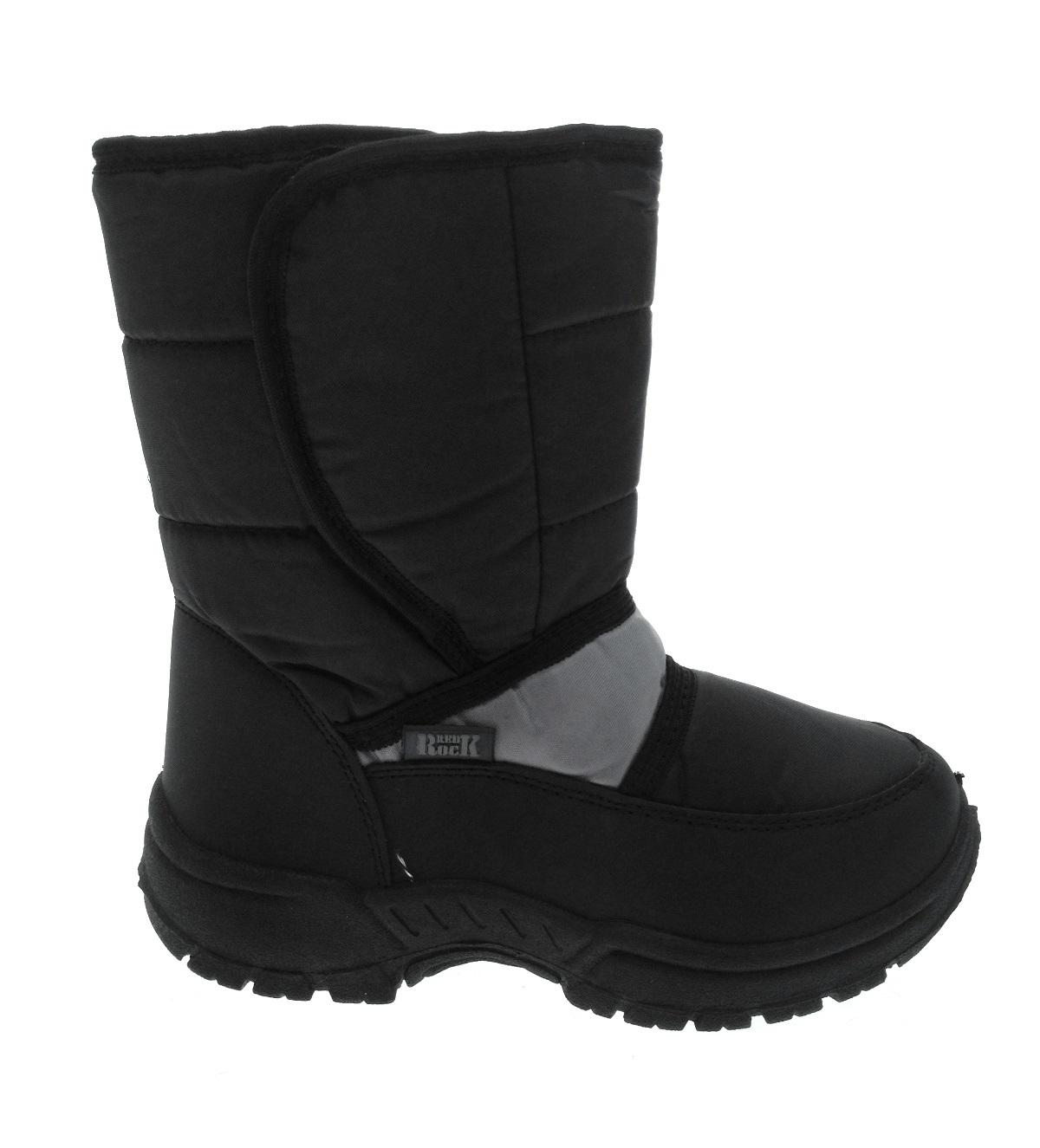 Kids Girls Boys Ladies Waterproof Sole Snow Boots Mucker