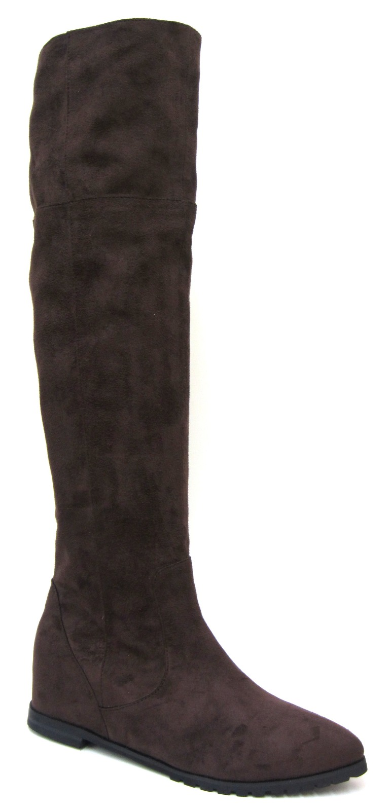 Take it up a notch with our collection of knee high boots, from smart riding styles and chunky biker boots to thigh high suede boots and lace up Timberlands.