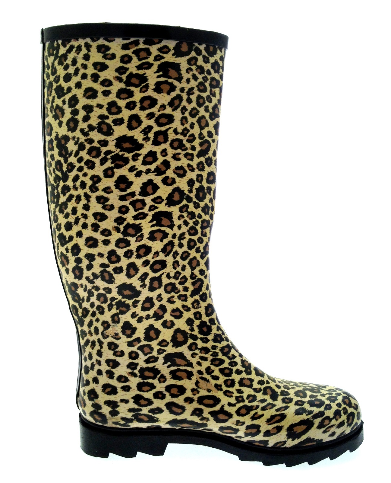 Womens Knee Length Wellington Rain Snow Boots Ladies Wellies Wellys Winter Shoes