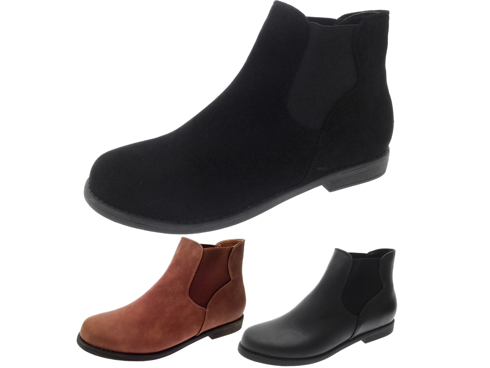 Women's Shoes,Boot,Womens New Style Chelsea Platform Flat Bottom Martin Ankle Boots.