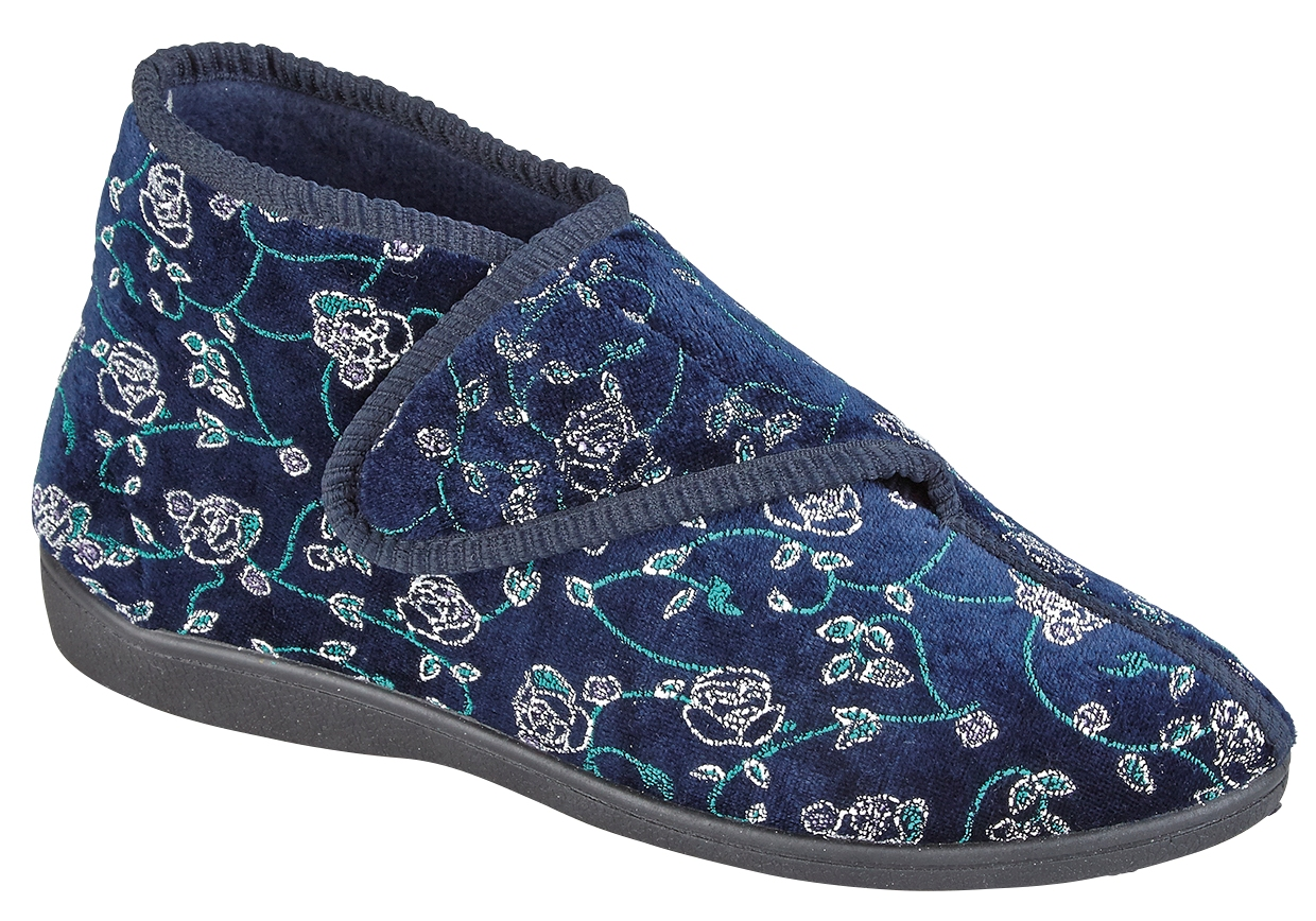 WOMENS-DIABETIC-ORTHOPAEDIC-COMFORT-SLIPPERS-BOOTS-SHOES-WIDE-FIT-SIZE