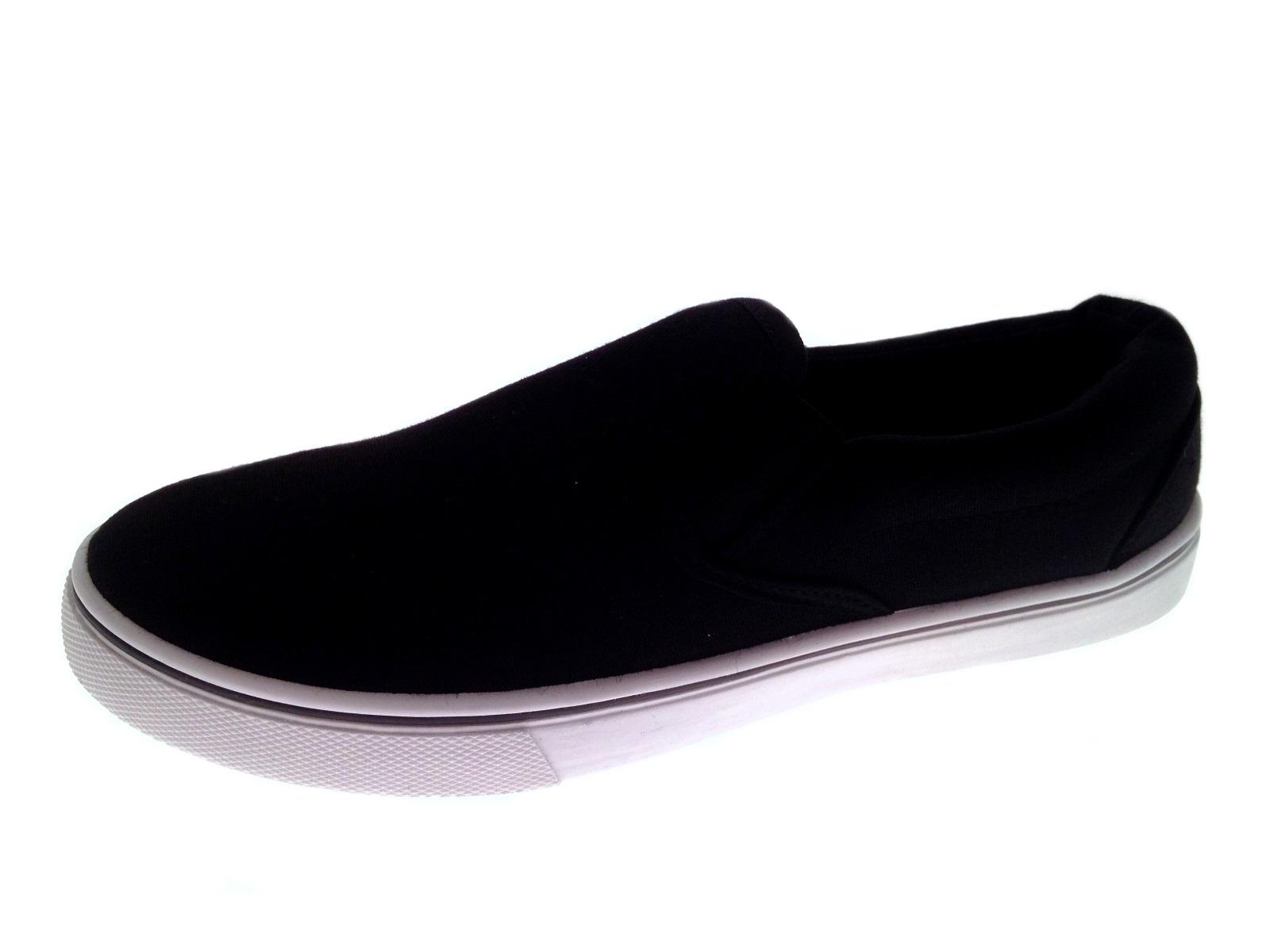 Mens Canvas Pumps Plimsoles Plimsolls Trainers Espadrilles Shoes Boys Size 7-12 | EBay