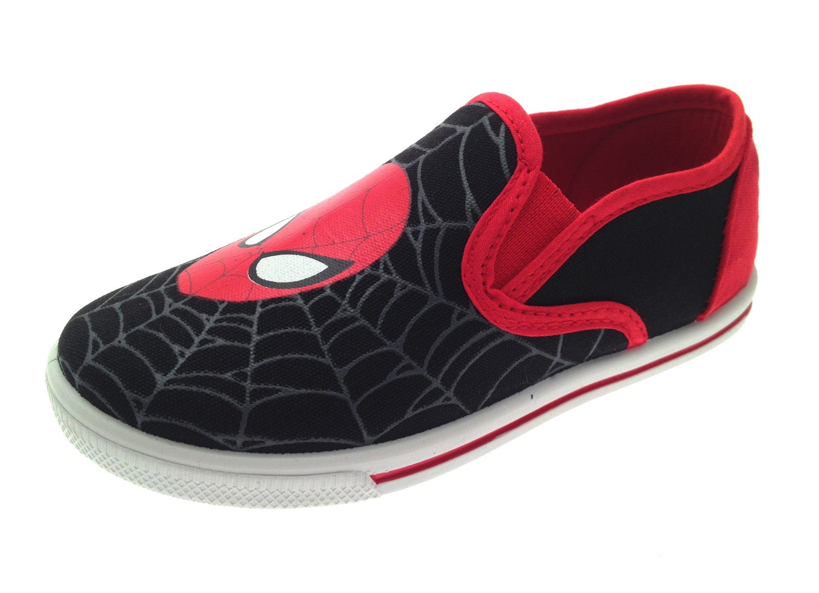 Spiderman Velcro Shoes Mens