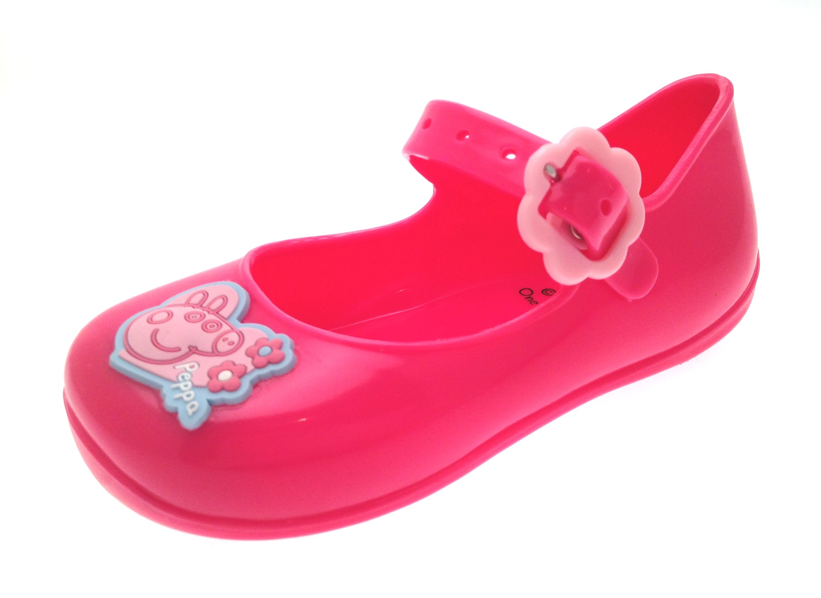 pink peppa pig jelly shoes pumps jellies