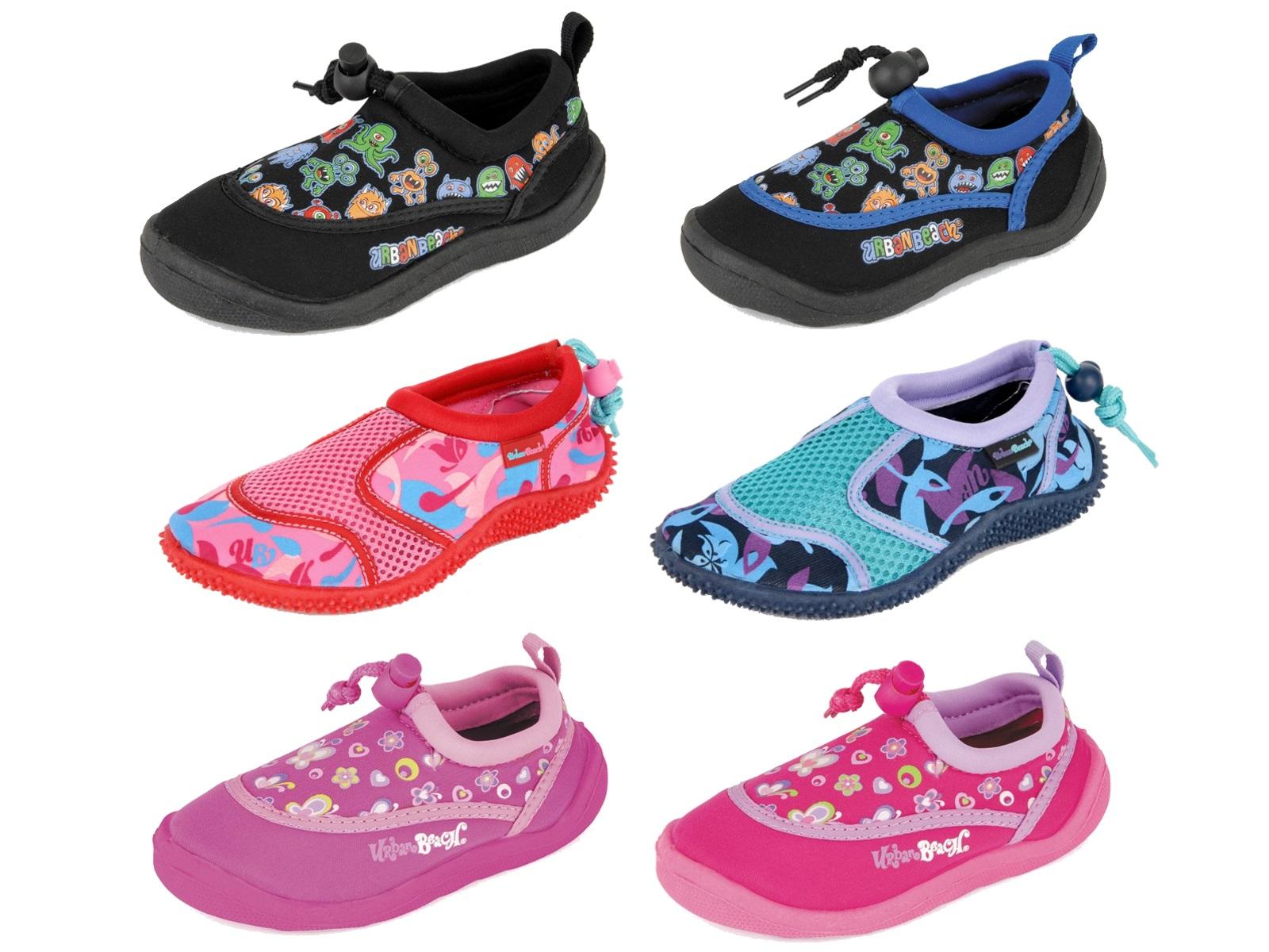 30e836c07aa7 Kids Boys Girls Urban Beach Aqua Socks Sandals Beach Swim Sea Surf ...