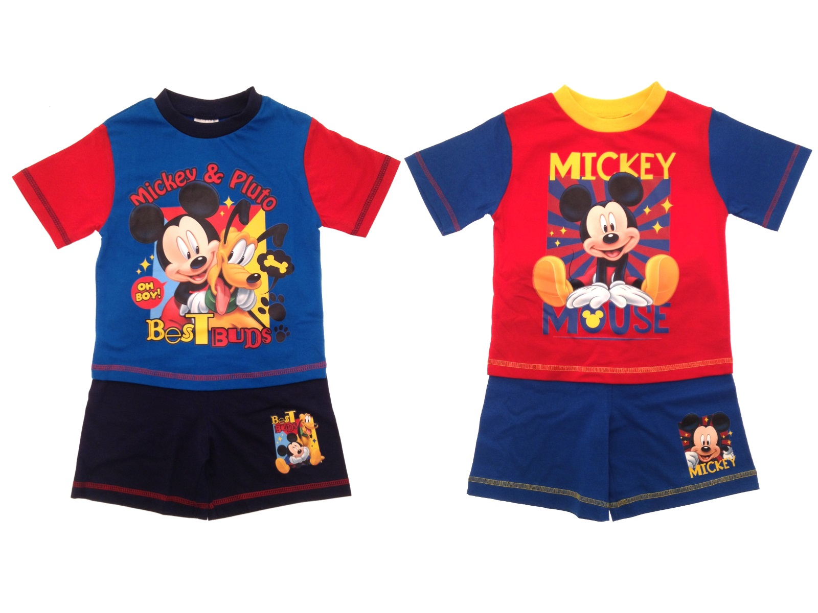 Toddlers Pyjamas Kids Baby Boy Disney Mickey Mouse Pjs Set Kids Size