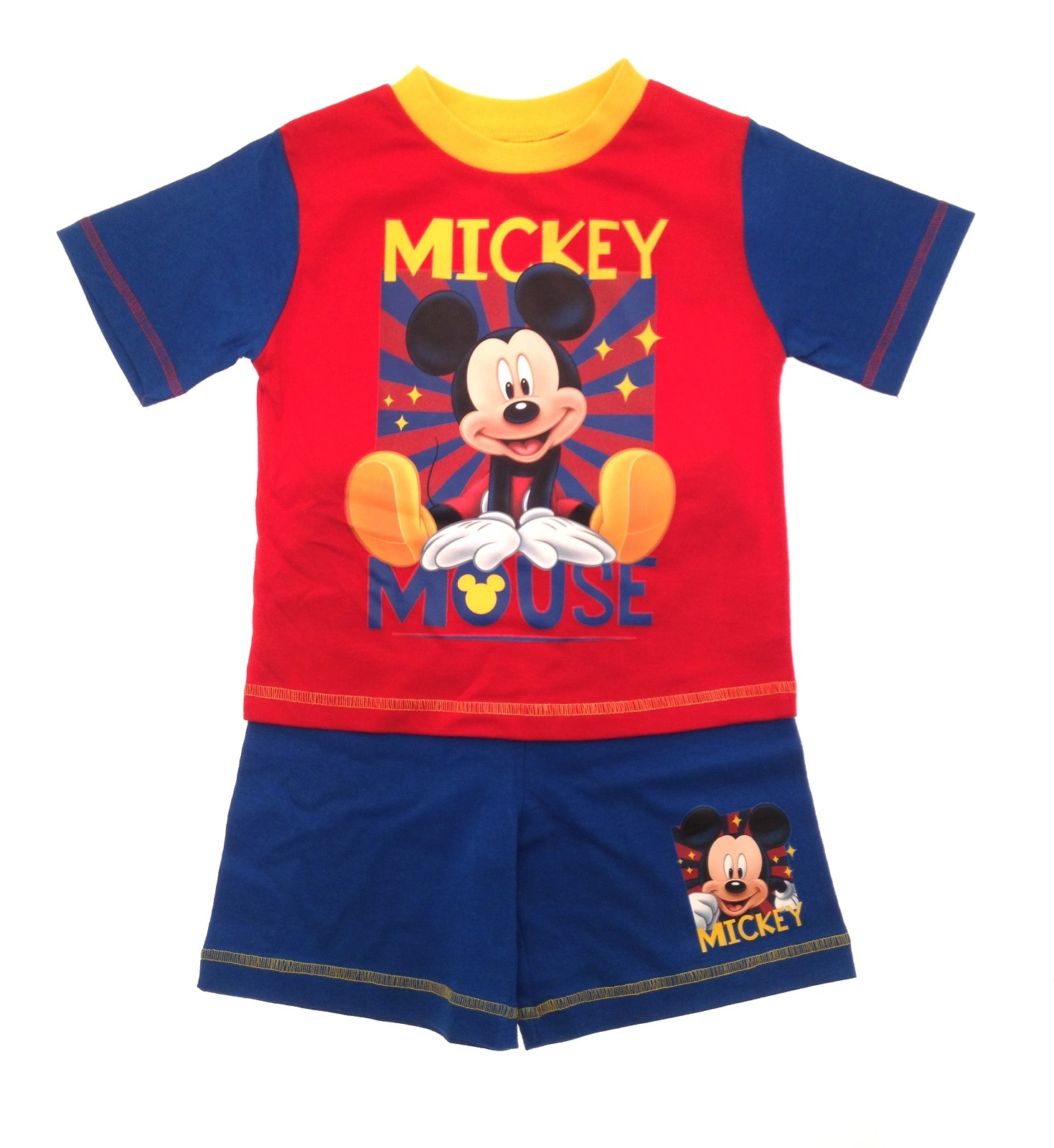 toddlers pyjamas enfants b b gar on disney mickey mouse. Black Bedroom Furniture Sets. Home Design Ideas