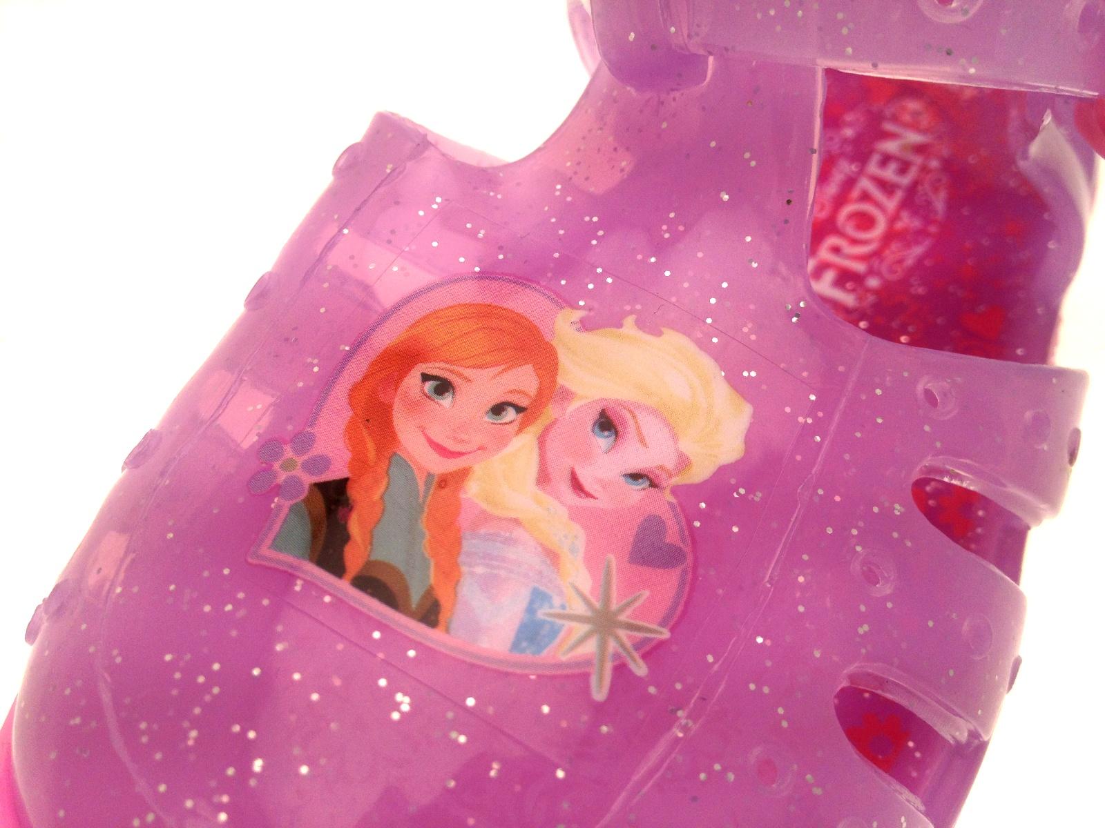 Girls Pink Frozen Elsa Anna Jelly Shoes Beach Glitter Sandals Jellies Kids Size