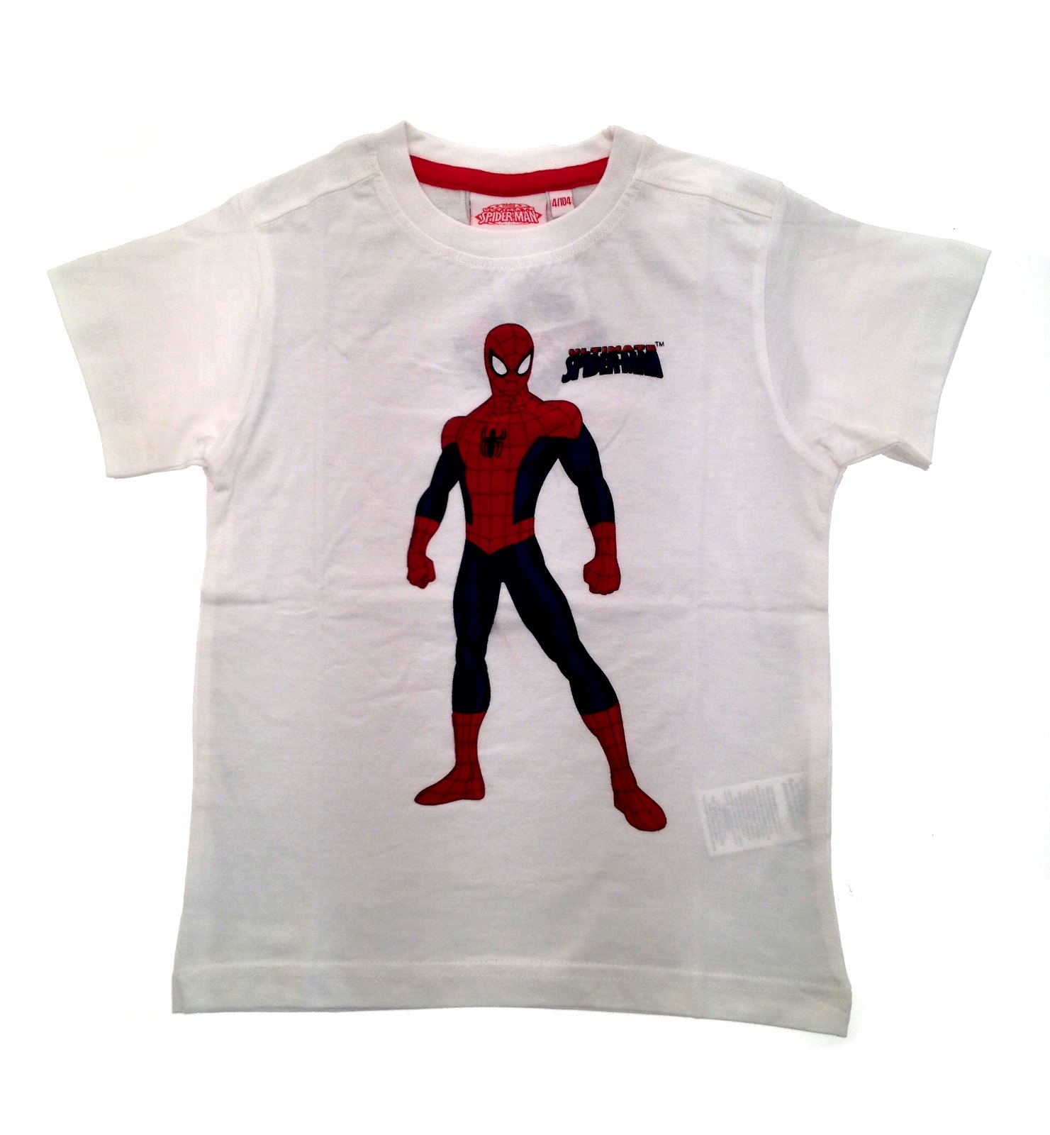 boys short sleeve ultimate spiderman t shirt kids summer top size uk 2 8 years ebay. Black Bedroom Furniture Sets. Home Design Ideas