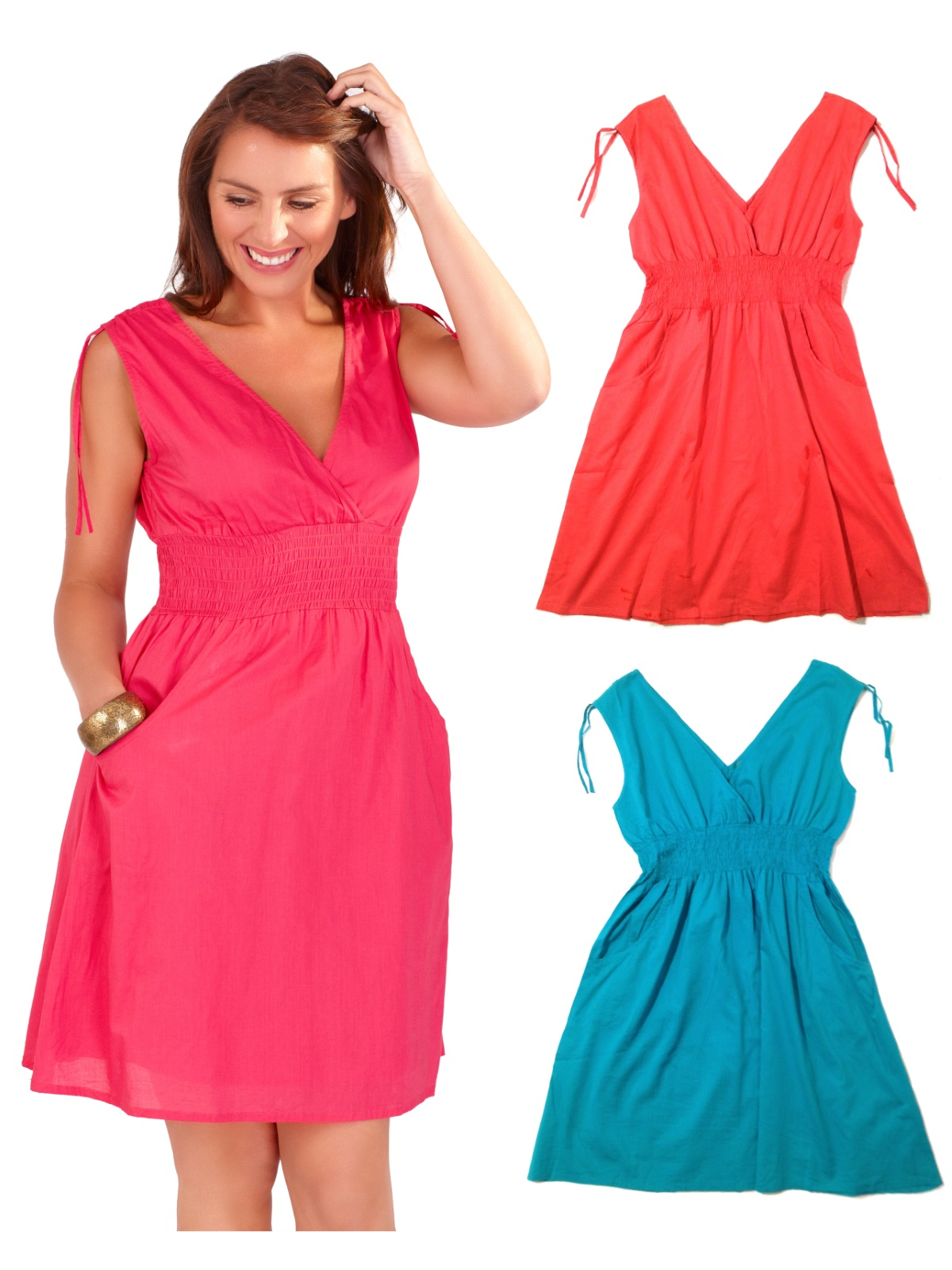 10702 Gallery womens summer dress 100% cotton v neck beach cover up ladies,Ebay Womens Clothing Size 8