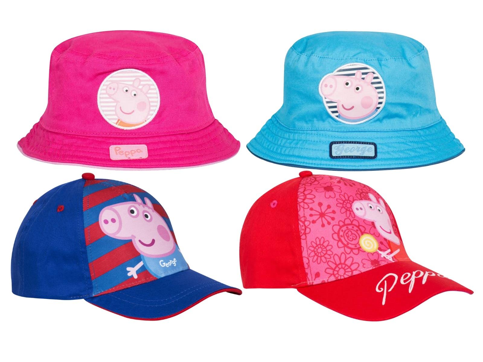 Boys Girls Peppa Pig Sun Hat George Summer Baseball Peak Cap Childrens Size  S-XL 30678437d06