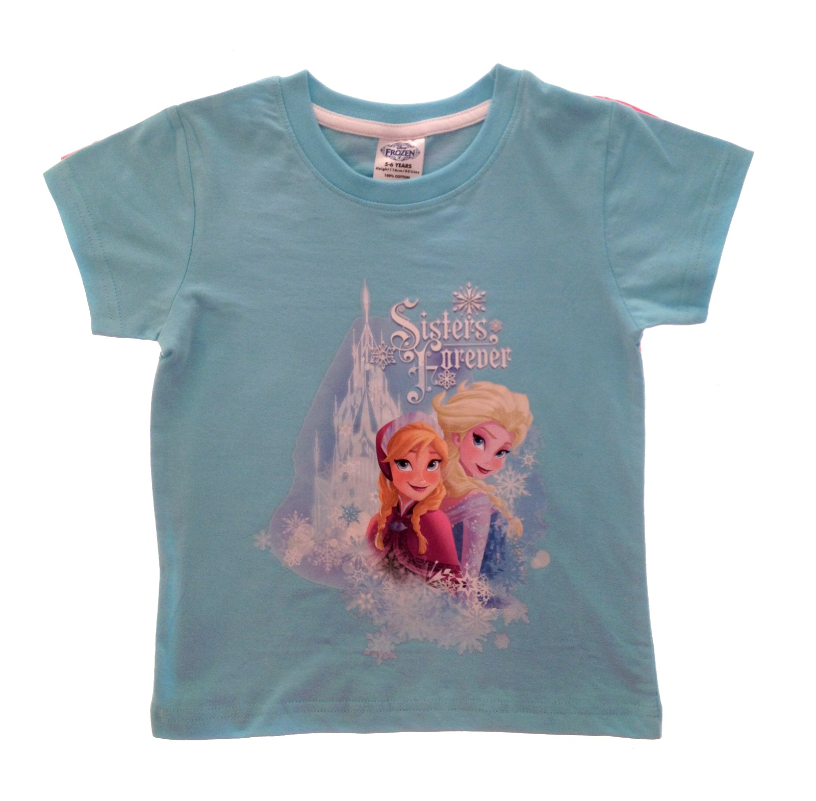 10643 21818 Blue Sisters Forever girls boys official disney frozen t shirts kids olaf summer tops,Childrens Clothes Ebay Uk