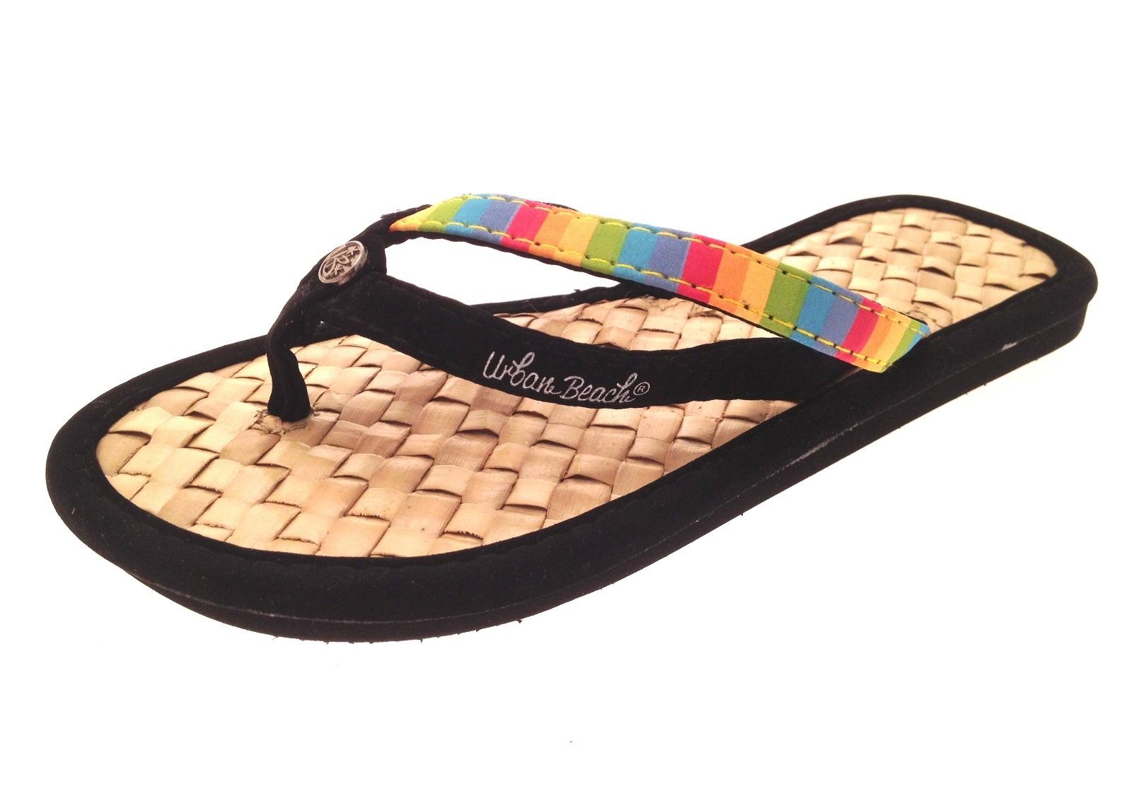womens girls urban beach sandals flip flops toe posts kids. Black Bedroom Furniture Sets. Home Design Ideas