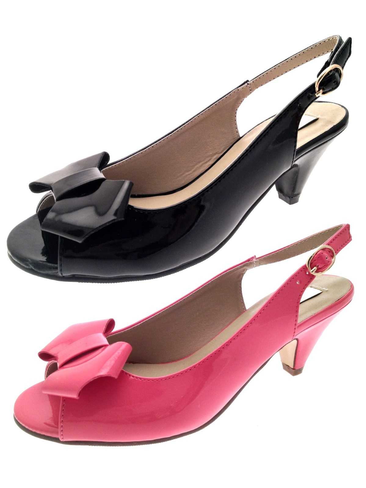 Size  Wide Fit Ladies Shoes Uk