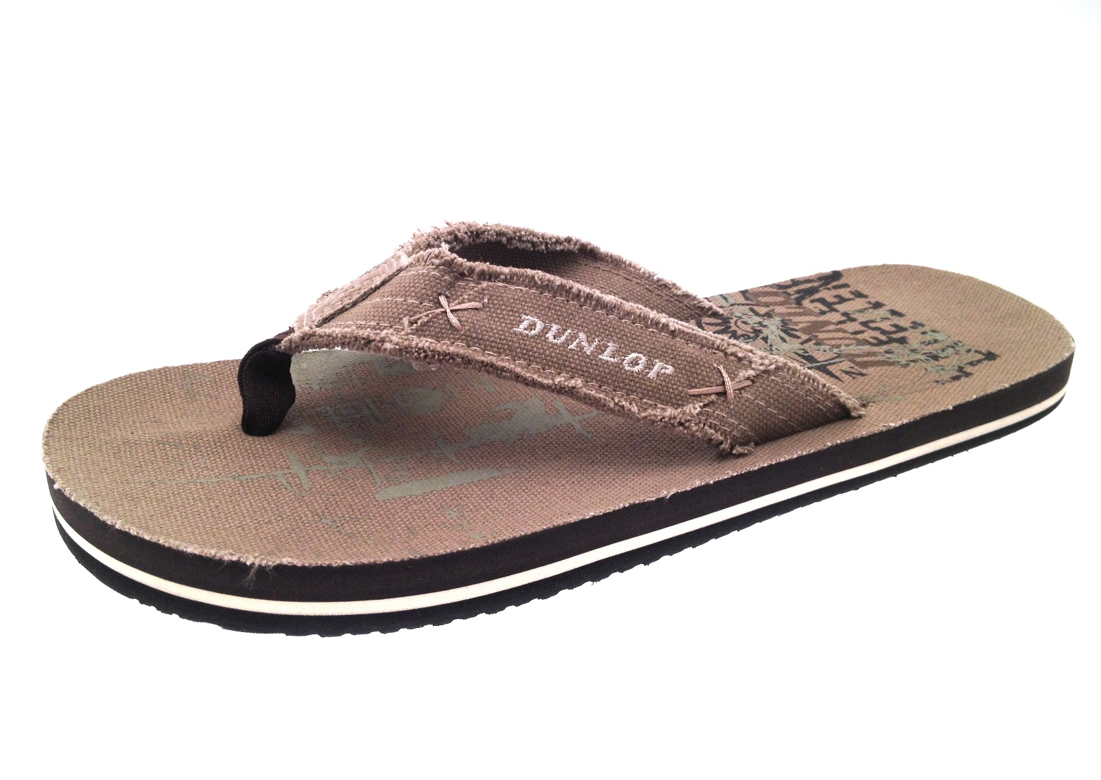 mens lightweight sandals beach flip flops summer canvas. Black Bedroom Furniture Sets. Home Design Ideas
