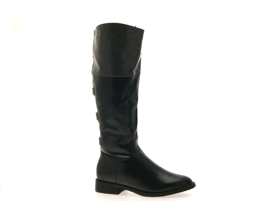 Popular  New Womens Fashion Two Tone Over The Knee High Riding Boots FIFTY502