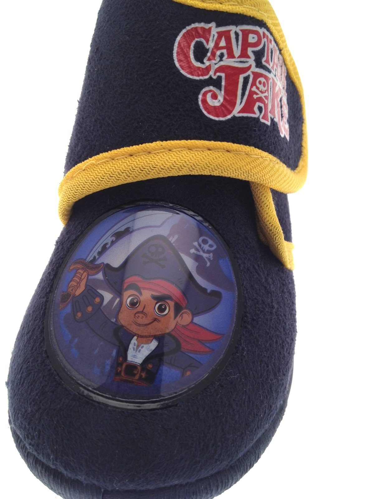 Boys Disney Jake And The Neverland Pirates Slippers Booties Kids Xmas Gift Size