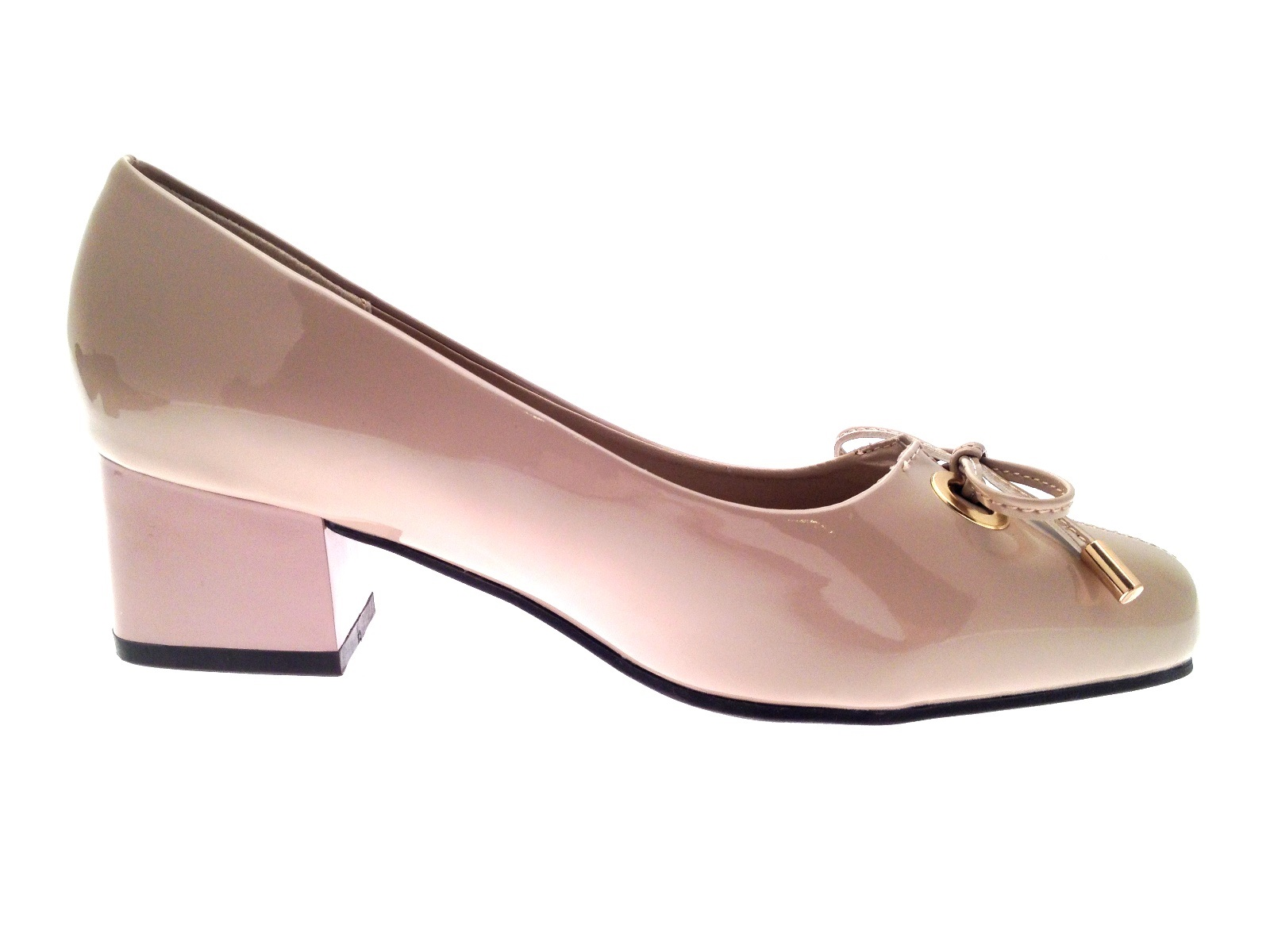 Wide fit sandals shoes uk - Womens Patent Low Block Heels Wide Fit Comfort