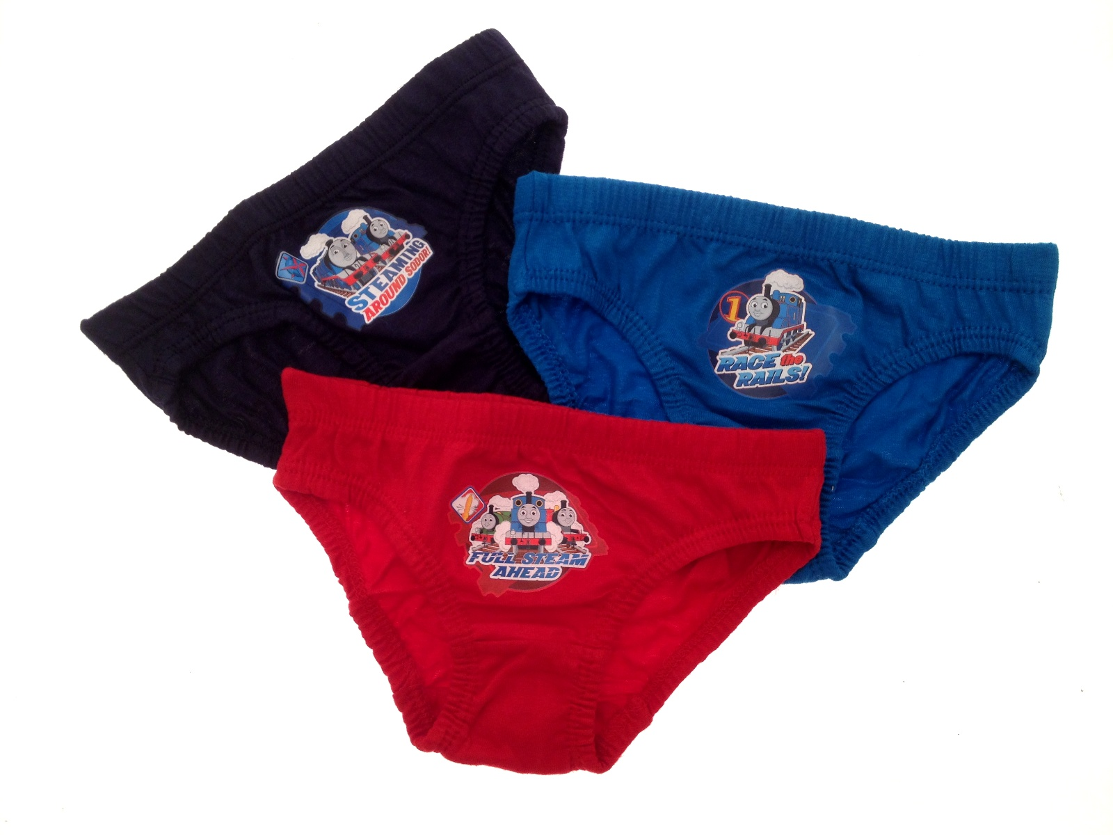 Kids Boys 3 Pack Thomas The Tank Engine Underwear Pants ...