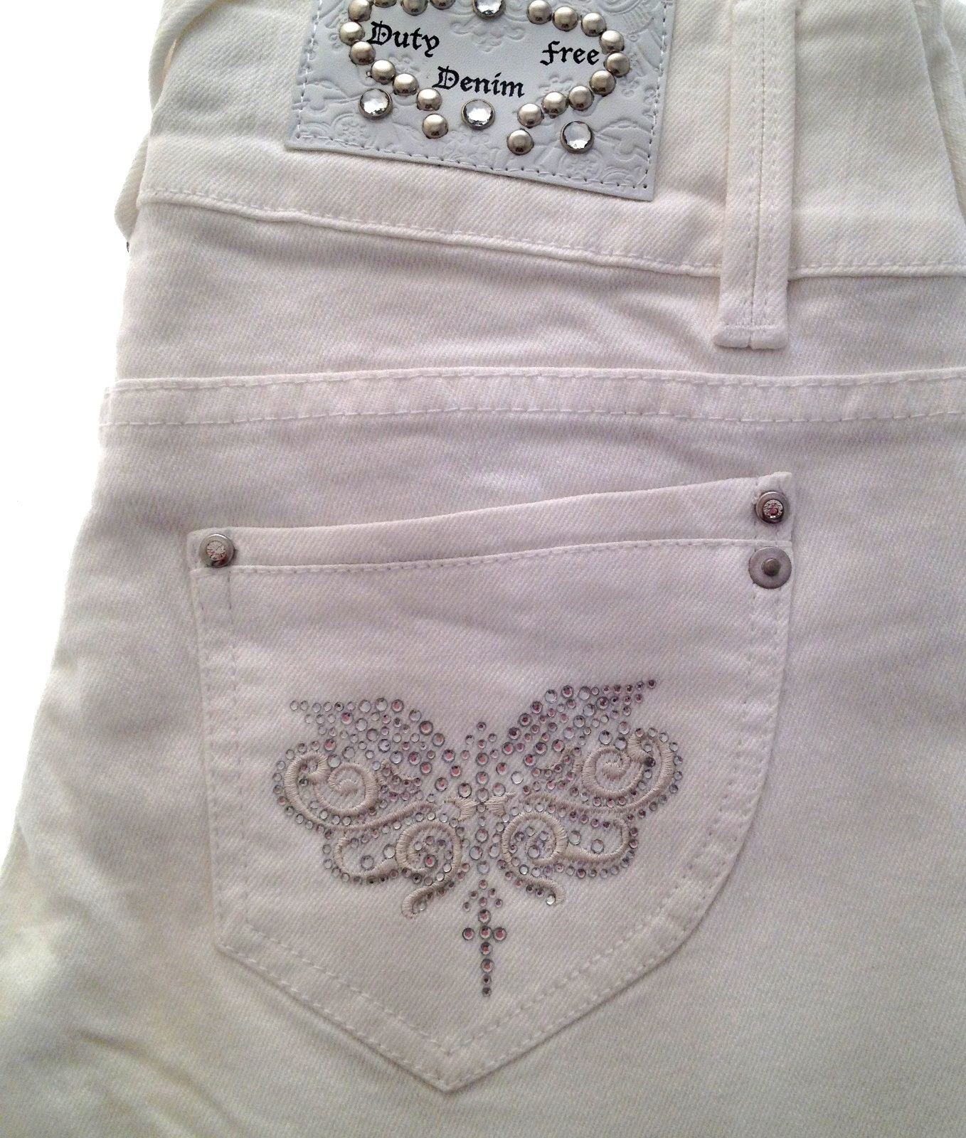 Ladies White Jeans Uk