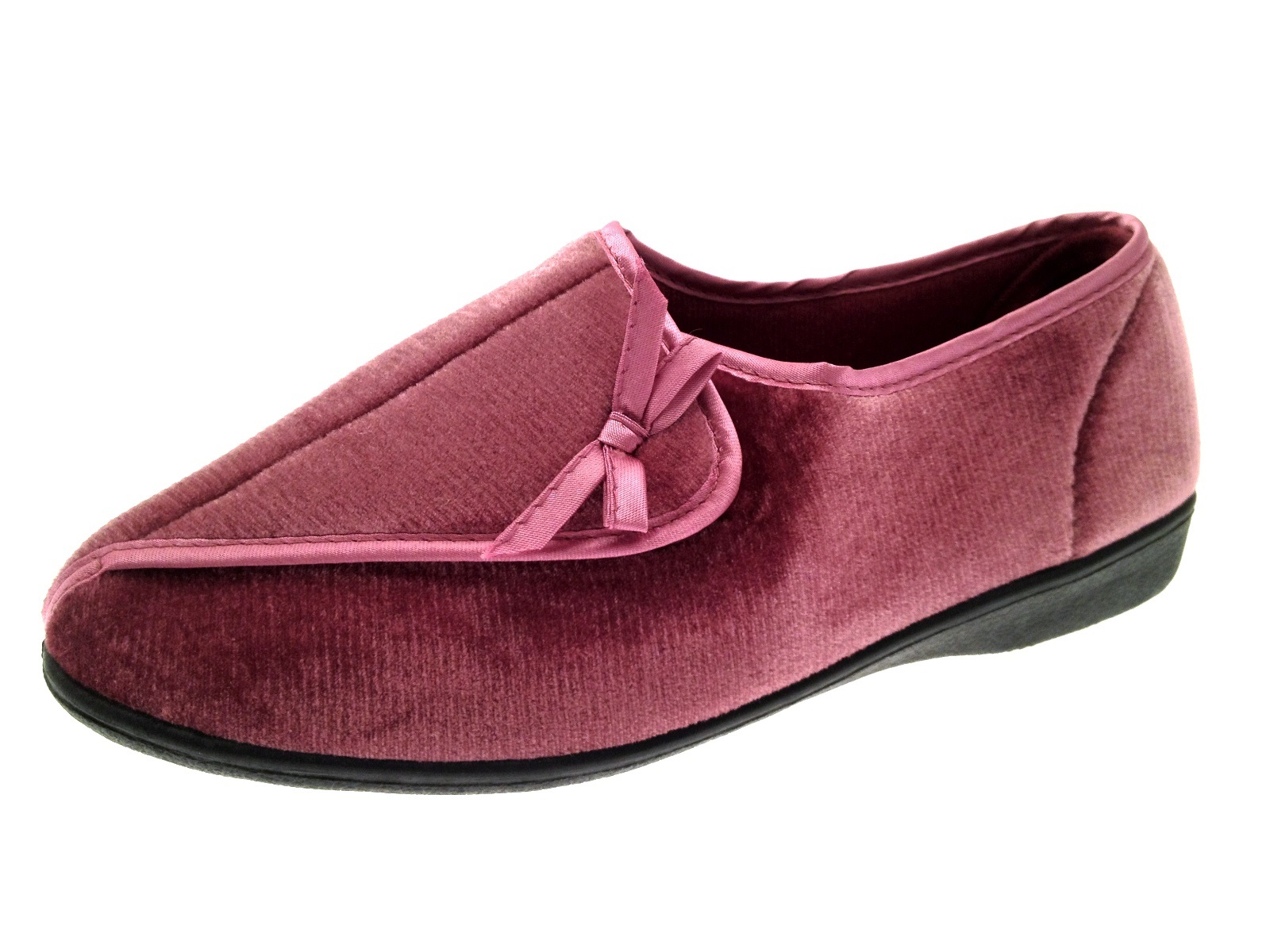 womens orthopaedic diabetic comfort slippers wider fit