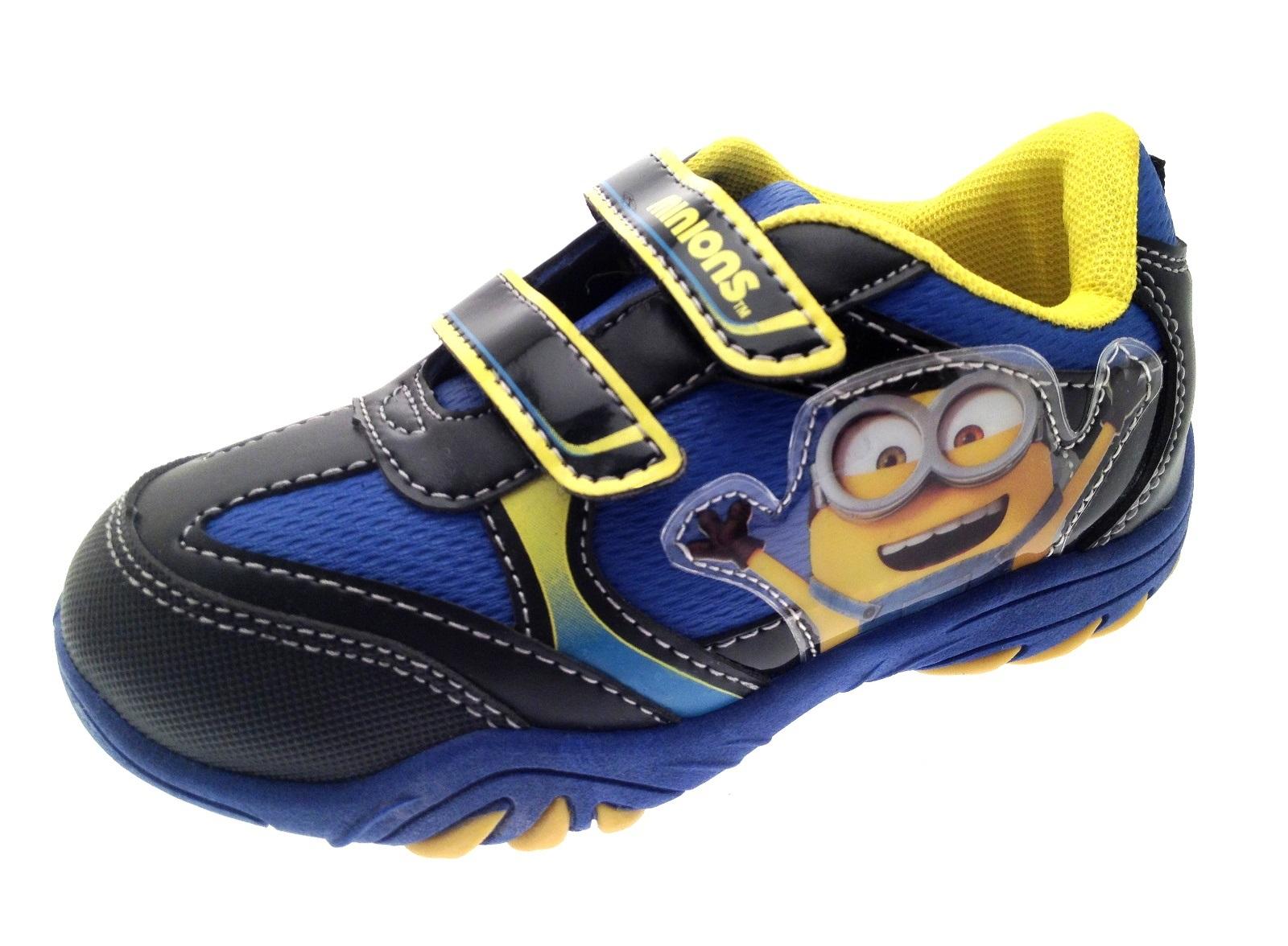 Boys Despicable Me Minions Range Clogs Canvas Pumps Wellies Boots Shoes Size 6-1 | EBay
