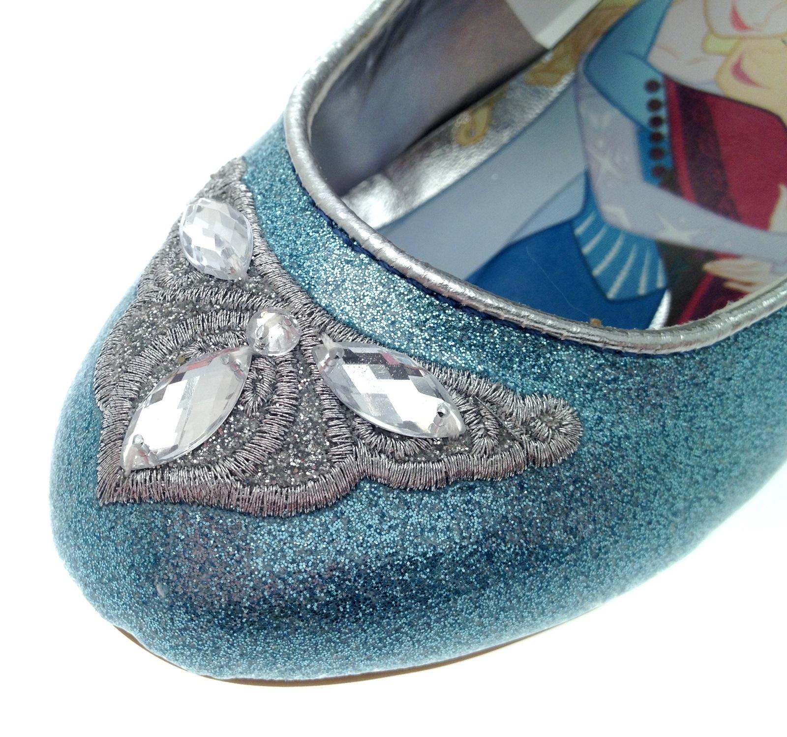 Blue dress uk 7 shoe