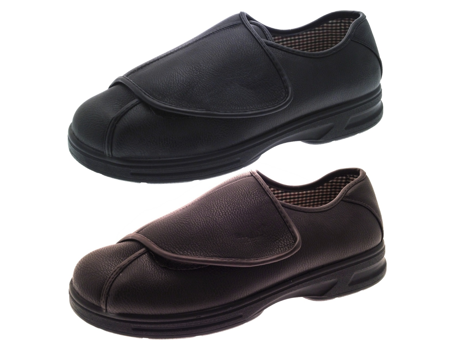 Kids Brown Velcro Shoes