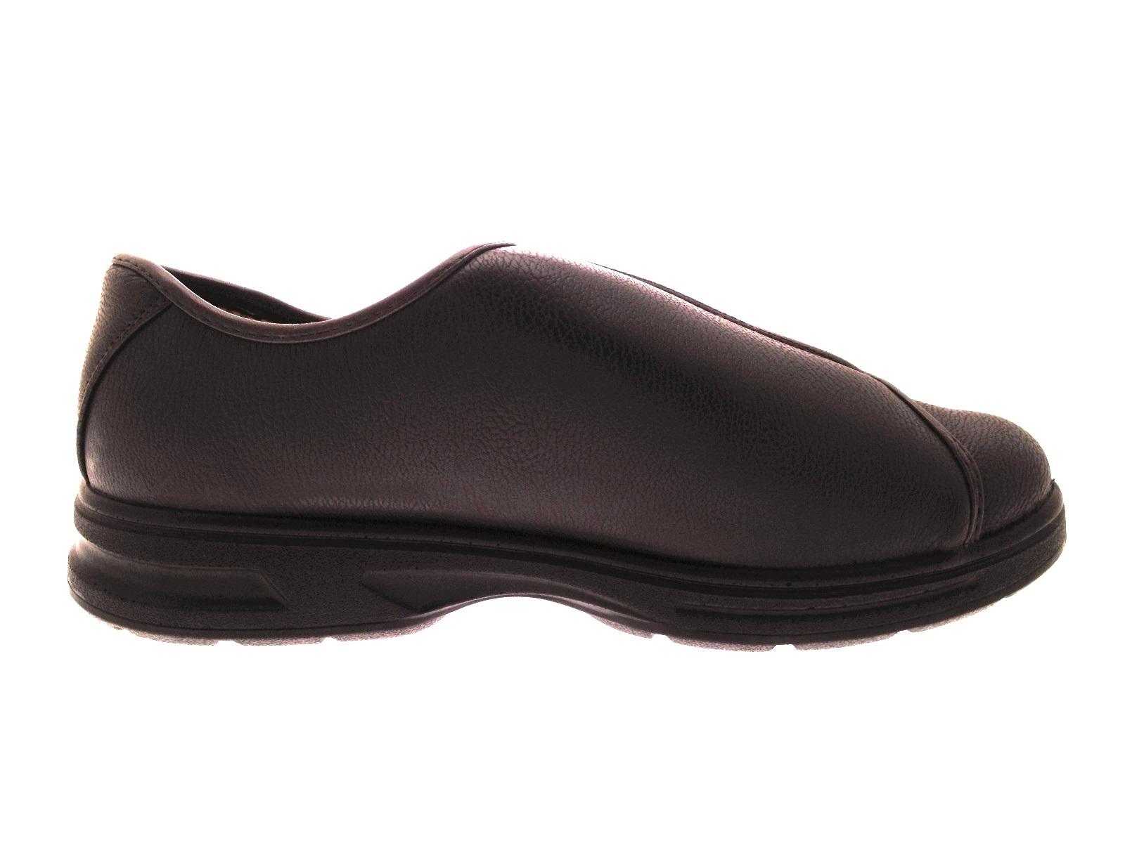 mens diabetic comfort shoes wide fit adjustable