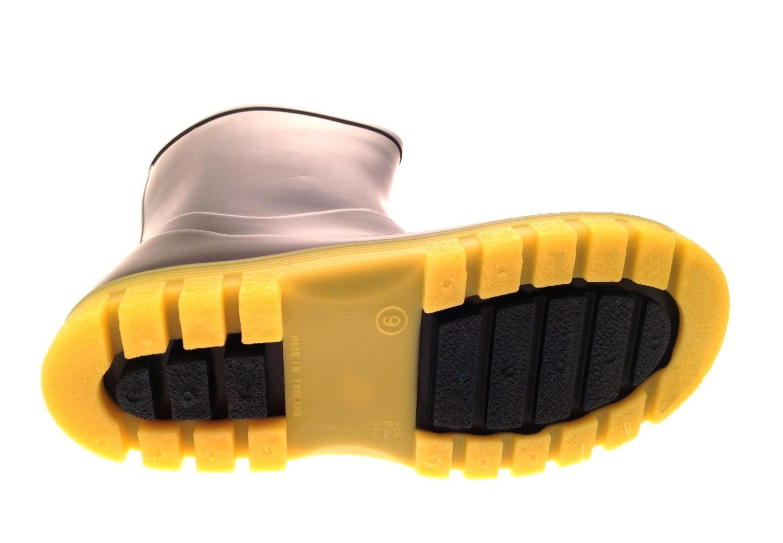 Chicos Despicable Me Minions Azul más Wellington Botas Kids Zapatos Talla Uk 6-1